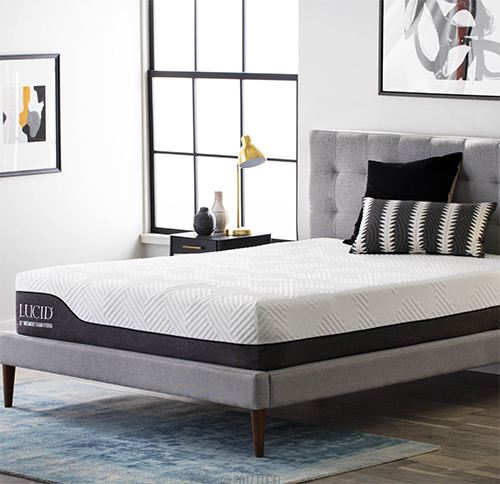 Lucid 12 Inch Queen Hybrid Mattress