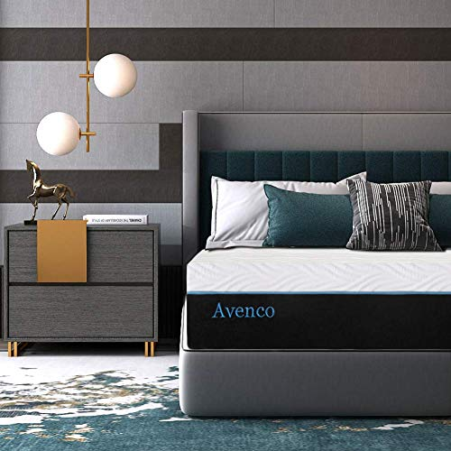 Avenco 10 Inch Memory Foam Mattress in a Box