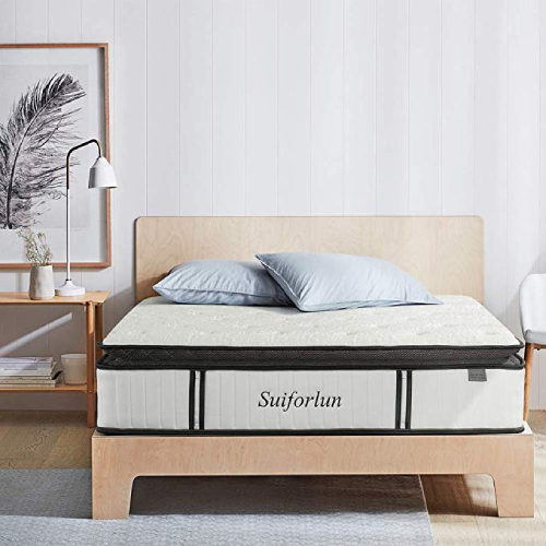 Suiforlun Hybrid Pillowtop Mattress