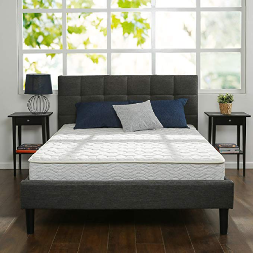 Zinus 8 Inch Hybrid Green Tea & Spring Mattress