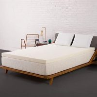 SleepJoy 2-Inch ViscO2 Memory Foam Mattress Topper