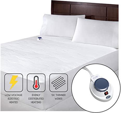SoftHeat Smart Heated Electric Mattress Pad