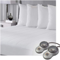Sunbeam HEated Mattress Pad - Quilted Polyester