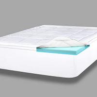 ViscoSoft 4-Inch Pillow Top Gel Memory Foam Mattress Topper