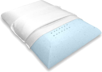 Bluewave Bedding Ultra Slim Gel Memory Foam Pillow