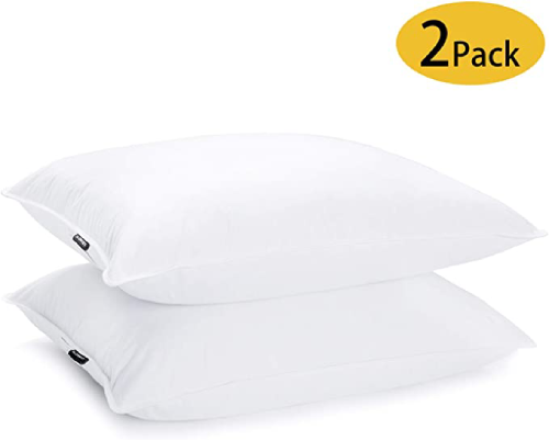 JA Comforts Duck Feather and Down Pillows: