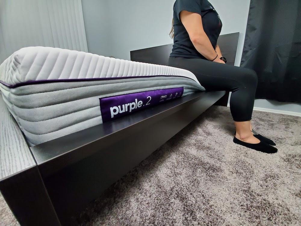 Purple Edge Support