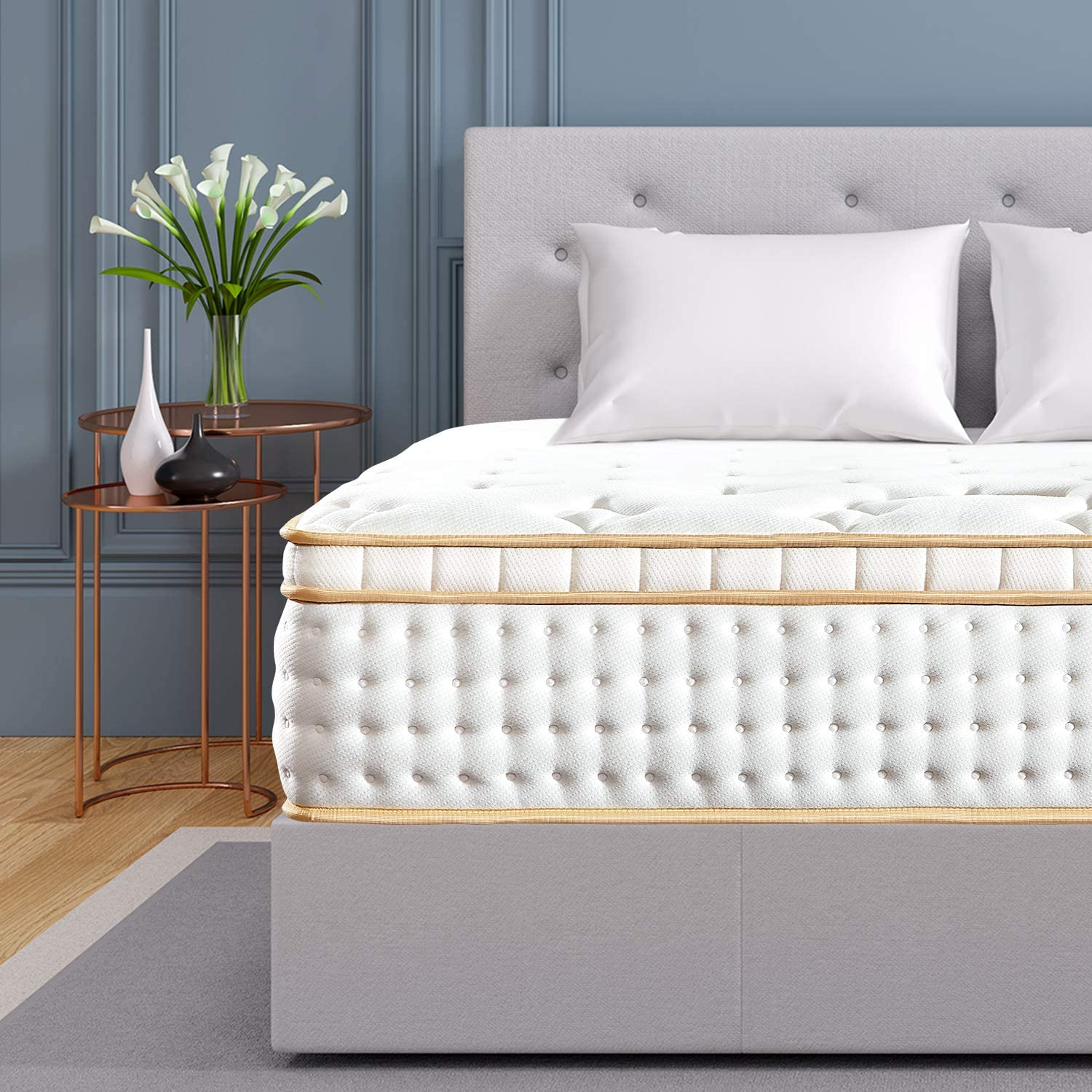 Bedstory Gel Memory Foam Mattress