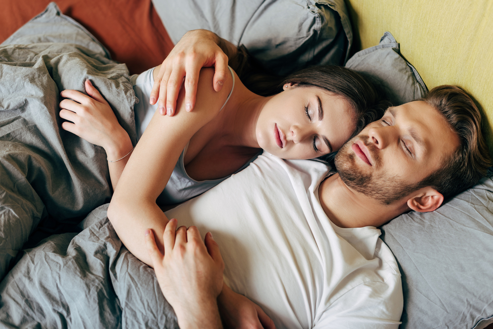 Couples sleeping positions and what they mean