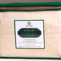 SleepEZ 100% Natural Sateen Cotton Sheets