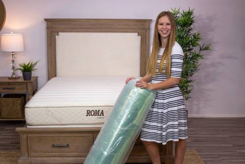 SleepEZ Natural Latex Mattress Topper